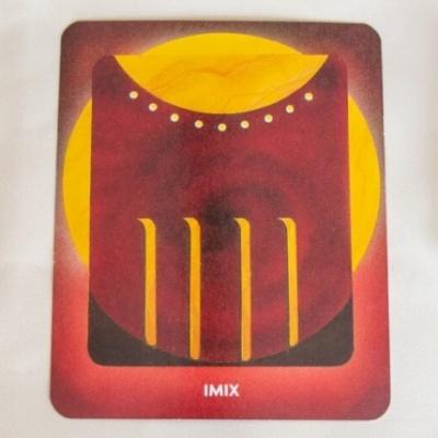 マヤ暦 太陽の紋章 赤い龍 400x400