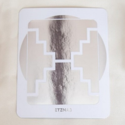マヤ暦 太陽の紋章 白い鏡 400x400