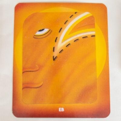 マヤ暦 太陽の紋章 黄色い人 400x400