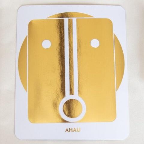 マヤ暦 太陽の紋章 黄色い太陽 480x480