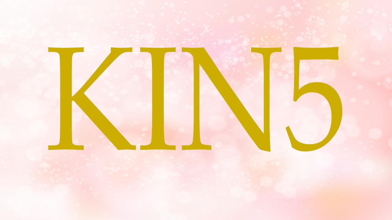 KIN5のエネルギー・有名人|赤い蛇×赤い龍×音5