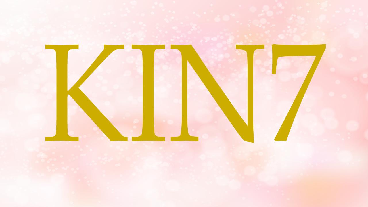 KIN7のエネルギー・有名人|青い手×赤い龍×音7