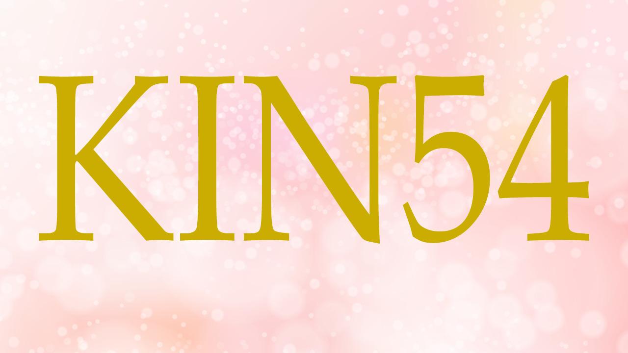 KIN54のエネルギー・有名人|白い魔法使い×赤い空歩く人×音2